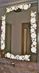 آینه-دکوراتیو-طرح-حباب