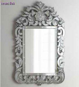 آینه-ونیزی-طرح-مورانو